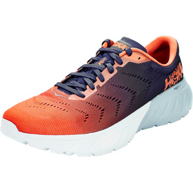 Hoka One One Mach 2 Running Shoes Herr patriot blue/nasturtium